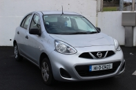 1.2 Petrol 1 year parts and labour warranty from Flynns Nissan Carlow