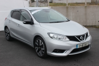 171 Nissan Pulsar 1.5dci Executive Silver Metallic Sat Nav with only 15376KM In Stock Now