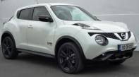 162 Nissan Juke €81 per week.