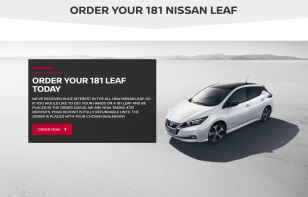 ORDER YOUR 181 LEAF TODAY